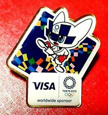 LAST ONE...JUDO MASCOT TOKYO 2020 OLYMPIC GAMES COLLECTOR PIN JAPANESE VISA