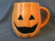 TAG Halloween Jack O Lantern Pumpkin Glazed Coffee Mug Cup