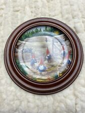 """Rien Poortvliet Collector Plate Secrets Of The Gnomes """"Search For Stradivarius�"""