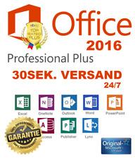 Microsoft Office 2016 Pro Plus (Professional) ✔ VOLLVERSION ✔ Lizenz Für 1 PC ✔