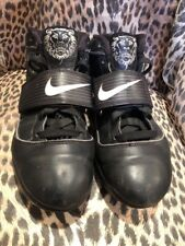 Nike Zoom Soldier IV 4 Lebron Basketball Black White Sneakers Shoes Women's 9