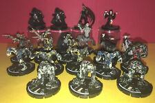 lot of 22 Mage Knight Undead Army Skeleton Zombie Centaur Spectre Vampire D&D
