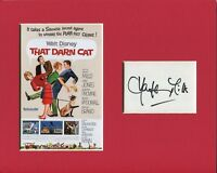 Hayley Mills The Darn Cat Signed Autograph Photo Display