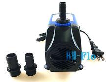 Submersible Fountain Water Pump 476G/H / 1800L/H 15W 110V Aquarium Hydroponic
