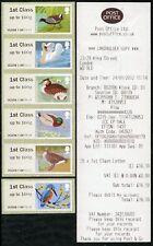WINCOR TYPE II BIRDS 3 III 6x1st CLASS SET (STRIP/5+1) SG FS16 x6 POST & GO