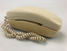 Vintage 70's Western Electric Trimline Phone - Push Button - White/Ivory Ac3