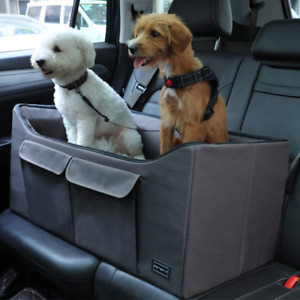 Petsfit Lookout Car Seat For 2 Small Dogs or Medium Dog up to 45 lb With Big