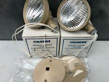 Remote Emergency Lighting Fixture With Mounting Plate 12w Lot Of 2