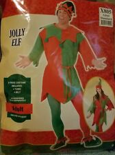 Elf Costume Adult Uni-Sex Christmas Fancy Dress Brand New one size fits most