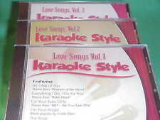 Love Songs~#1, 2 & 3 ~ Daywind ~ Karaoke Style ~ You Are so Beautiful ~ CD+G