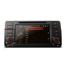 "Autoradio 7"" Touch BMW E46 Navigatore GPS Comandi Volante Mp3 Bluetooth USB SD"