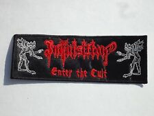 Inquisition Enter The Cult Black Metal Embroidered Patch