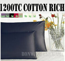 Unbranded Cotton Blend Patternless Pillow Cases