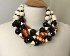 Gorgeous Multi Strand Acrylic & Resin Beads Designer Necklace