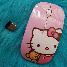 Ratón Óptico Inalámbrico Hello Kitty