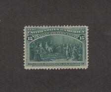 Scott 238 - Columbian Issue 15 Cent. Single. MNG.   #02 233c