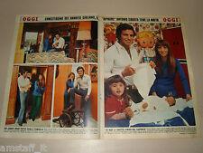 ANTONIO SABATO attore actor  clipping articolo foto photo 1972 MONTELEPRE