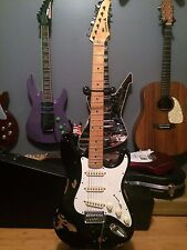 Relic Worn Aged Korean Samick Strat Style Electric Guitar.  Very Cool Vibe!!!