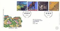 7 SEPTEMBER 1999 FARMERS TALE ROYAL MAIL FIRST DAY COVER BUREAU SHS (a)