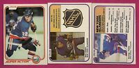 3 X 1981-82 OPC NEW YORK ISLANDERS MIKE BOSSY LEADERS  CARD (INV# A1680)