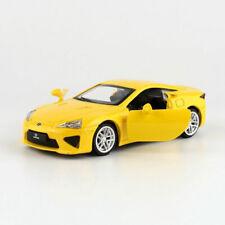 Lexus LFA Sports Car 1:43 Model Diecast Toy Vehicle Kids Collection Gift Yellow