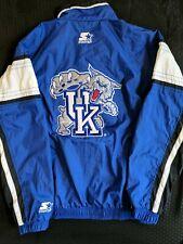 Kentucky UK Wildcats Starter Large Zip Up Windbreaker