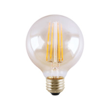 Halco 7W 2700K Clear Filament G25 Vintage LED E26 Base Replaces 100W 24637