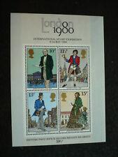 Stamps - Great Britain - Scott# 874a - Miniature Sheet