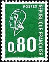 """FRANCE STAMP TIMBRE N° 1893 """" MARIANNE DE BEQUET 80C VERT """" NEUF xx TTB"""