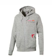 Red Bull Racing Formula 1 Zip Up Hoodie  Light Heather Gray NWT PUMA Size Large
