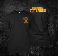 Pennsylvania State Police - Custom Men's T-Shirt Tee
