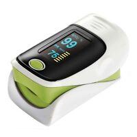 OLED Finger Fingerspitzen Blutsauerstoffmessgerät SpO2 Puls Herzfrequenz-Monitor