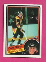 1984-85 OPC # 327 CANUCKS CAM NEELY ROOKIE NRMT-MT  CARD (INV# C8842)