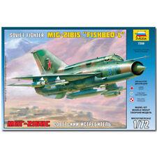ZVEZDA 7259 SOVIET FIGHTER MIG 21 PF AIRCRAFT MODEL KIT 1:72
