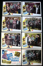 OVERLAND RIDERS BUSTER CRABBE WESTERN 1946 LOBBY CARD SET