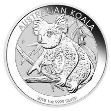 1 oz Silber Koala 2018 - 1 Dollar Australien Silbermünze in Münzkapsel