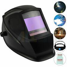 Auto Darkening Welding Helmet Replaceable Solar Battery 3 In 1 Plasma Grinding