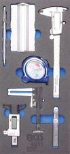 BGS 4031 1/3 Werkstattwageneinlage: Messwerkzeug-Satz, 7-tlg.