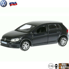 Volkswagen Golf 7 Hatchback Black - Diecast Cars 1:36 Scale - Russian Toy Cars