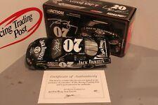 2005 Dave Blaney Jack Daniels 1/24 Action NASCAR Diecast Autographed