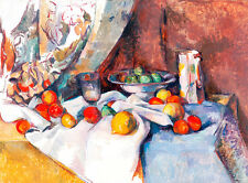 Nature Morte by Paul Cezanne A1+ High Quality Art Print Impressionist Wall Art