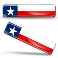 3D Gel Domed Texas Flag America Texan Sticker USA American State TX Decal Emblem