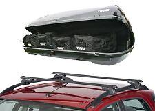 Citroen C4 Grand Picasso Roof Rack Rail Bars & Thule Ocean 200 Roof Top Box