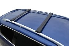 Aero Alloy Roof Rack Slim Cross Bar for Holden Captiva 7 2007-18 Lockable Black