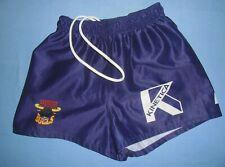 Bradford Bulls / 2013 Away - ISC- JUNIOR purple rugby Shorts / Pants. Size: 12