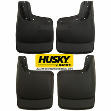 HUSKY Mud Guards Flaps for 03-10 FORD F250 F350 w/ FENDER FLARES Front and Rear
