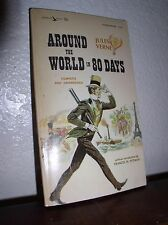 Around the World in 80 Days by Jules Verne (Airmont #CL24,1963,PB)