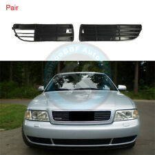 Left Right Front Bumper Lower Fog Light Grille Fit For AUDI A4 A4 Quattro B5