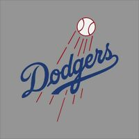 Los Angeles Dodgers MLB Team Logo Vinyl Decal Sticker Car Window Wall Cornhole