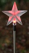 Sale /New garden Solar color changing led Star garden stake /nice